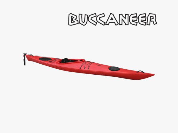 Point65 Buccaneer GT havkajak rød