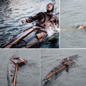 Grønlænderrul i havkajak med Andreas KajakHolm – ØVEDE – lørdag d. 19. september 2020